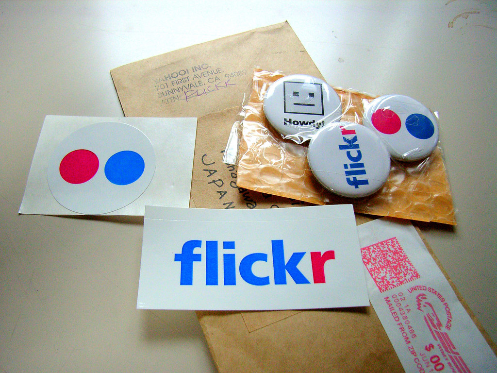 Flickr schwag!