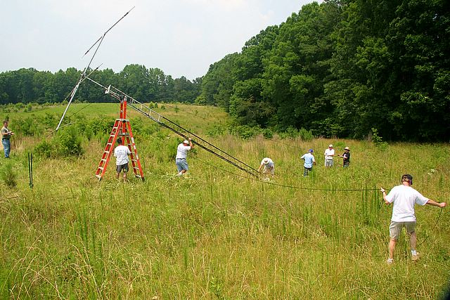 Amateur Radio Field Day - 2005. Each year, the last weekend of June, ...