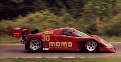 race car, automobile, group c, vehicle, sports prototype, porsche 962, land vehicle, luxury vehicle, supercar, sports car,