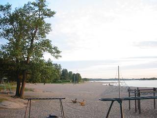 Image of  Hietarannan uimaranta  near  Helsinki. chrisandeevasweddingweekend