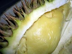 pineapple(0.0), plant(0.0), produce(0.0), fruit(0.0), ananas(0.0), food(1.0), durian(1.0),