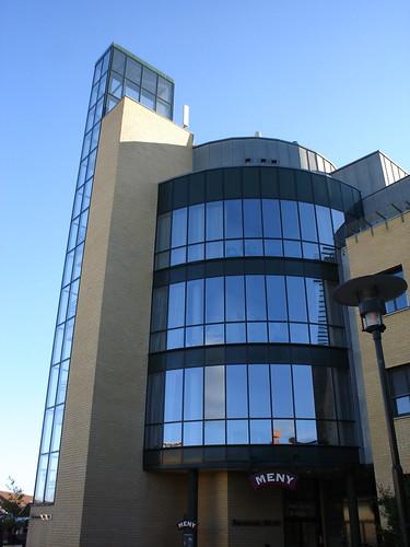 Desain rumah minimalis modern building of meny office for Office building exterior design