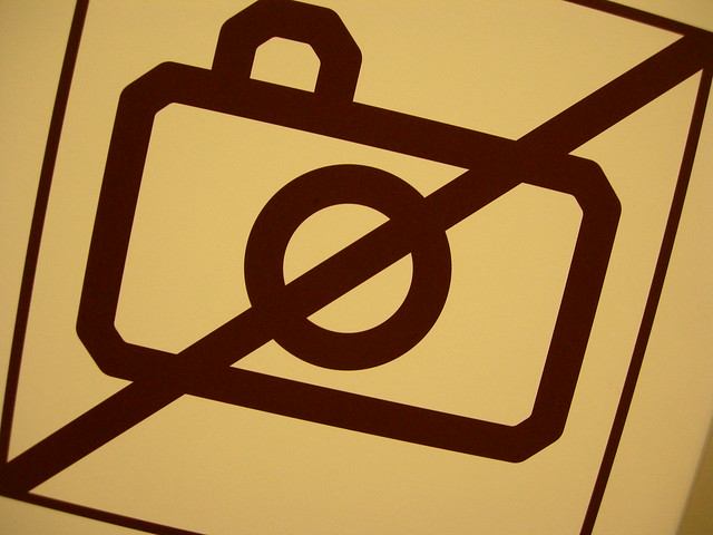 No Cameras Allowed, Modern Museum, Stockholm