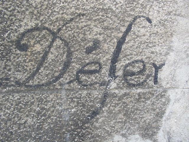 defer, by Robert Cudmore