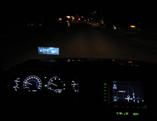night vision HUD