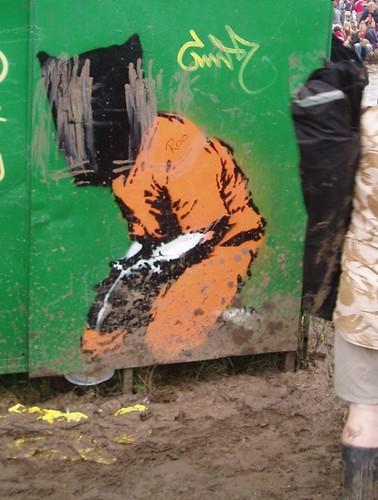Guantanamo graffiti