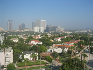 View of Century City from Beverly Hills