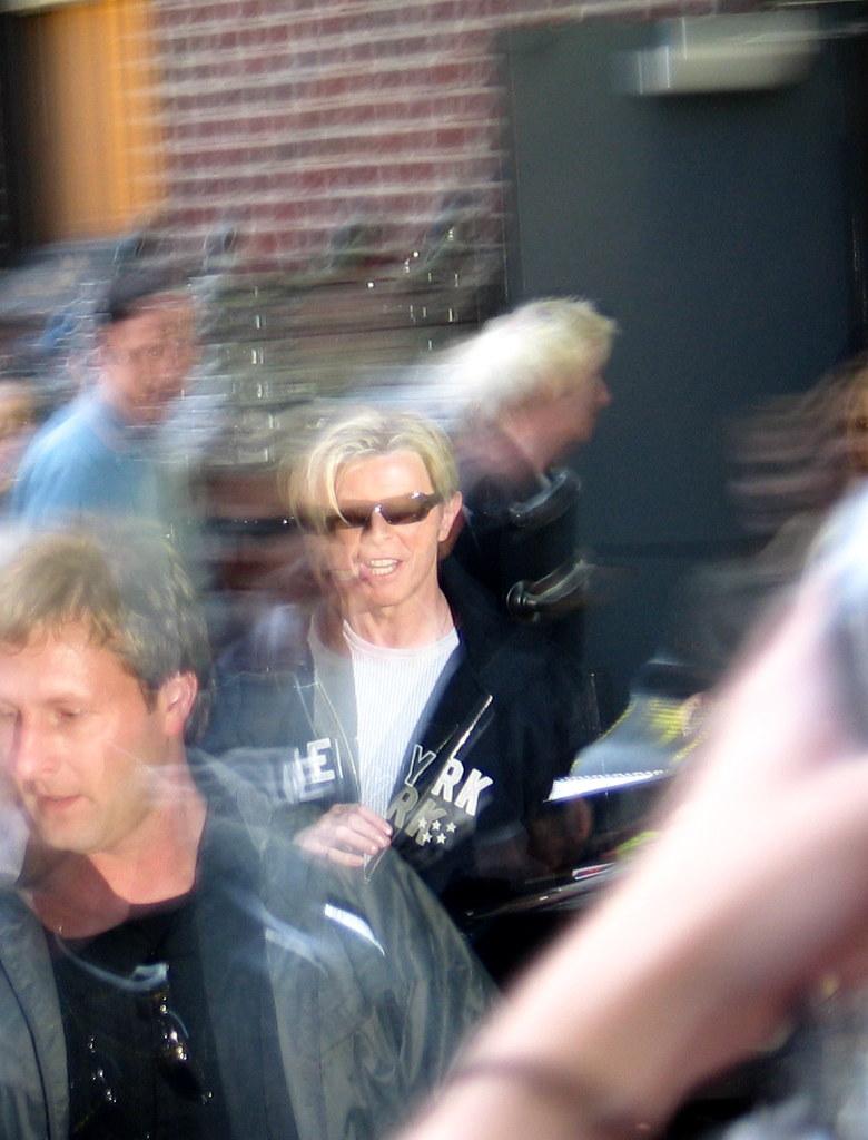 David Bowie Exits the Ed Sullivan Theater