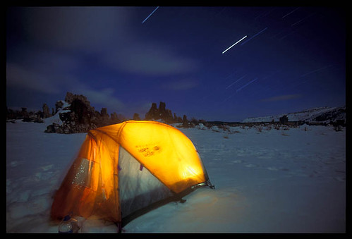Winter Camp, Mono Lake