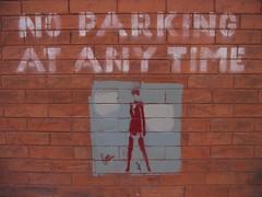 No Parking Girl (detail)