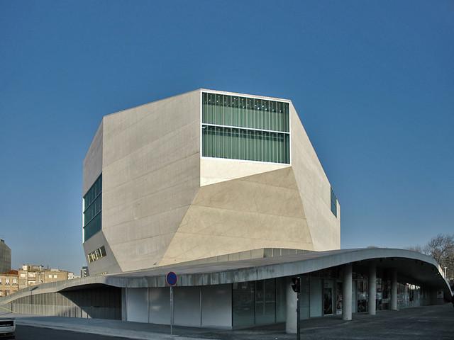 Porto casa da m sica rem koolhaas for Da architecture
