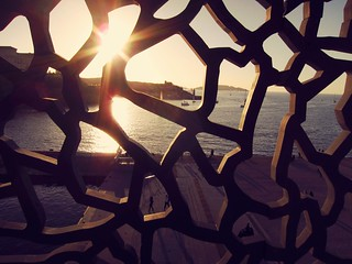 Sunset on the MuCEM