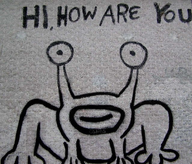 Hi how are you flickr photo sharing for Daniel johnston mural austin