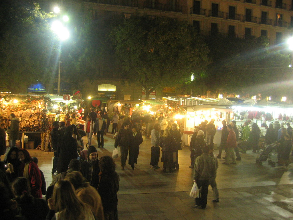 Barcelona - Fira de Santa Llúcia