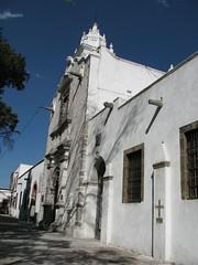La iglesia de San Pedro en Tepotzotlan