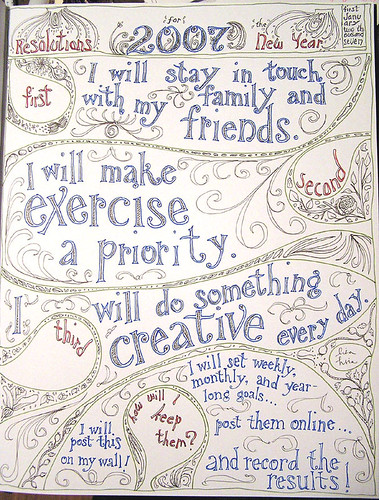 2007 New Year's Resolutions