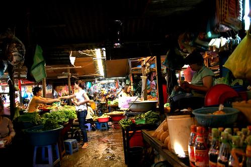 Russian market in Phnom Penn