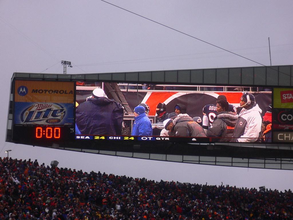 Chicago Bears - Seahawks Playoffs January 14, 2007 - Overt