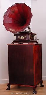 gramophone de luxe spain 1909 - 26