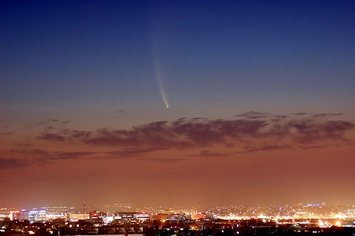 Comet McNaught over Sydney
