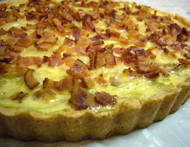 French onion and bacon tart | Flickr - Photo Sharing!
