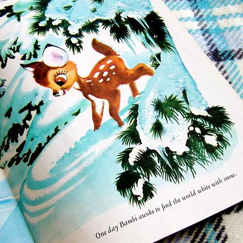 Vintage Bambi Illustration