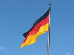 wind, flag, sky,