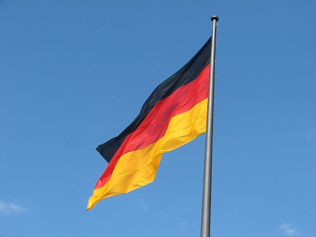 German Flag, Berlin from Flickr via Wylio