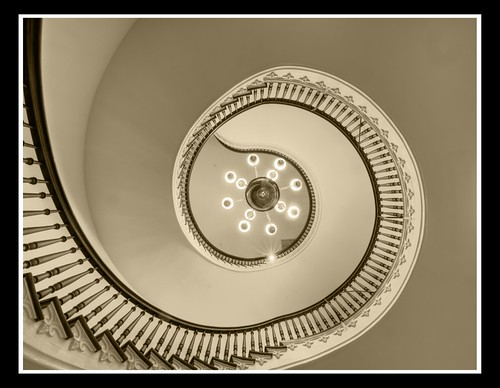 Capital Spiral Stairs by sunsurfr, on Flickr