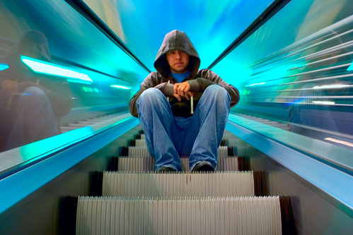 Gomez on 'The Light-Speed Escalator'
