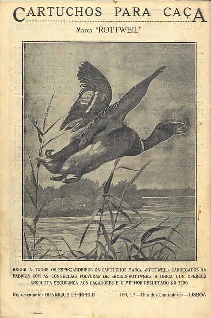 Ilustração Portugueza, 8 December, 1923 - back cover