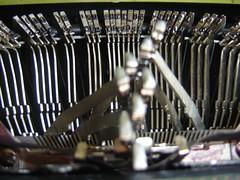typewriter, iron,