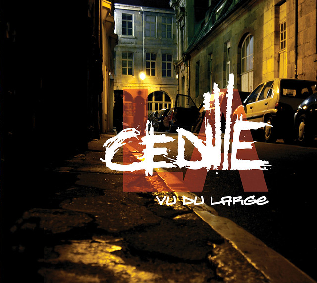 "LA CEDILLE ""VU DU LARGE"" CD ARTWORK (CHOCOLATE FIREGUARD ..."