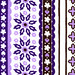 vintage fabric: purple