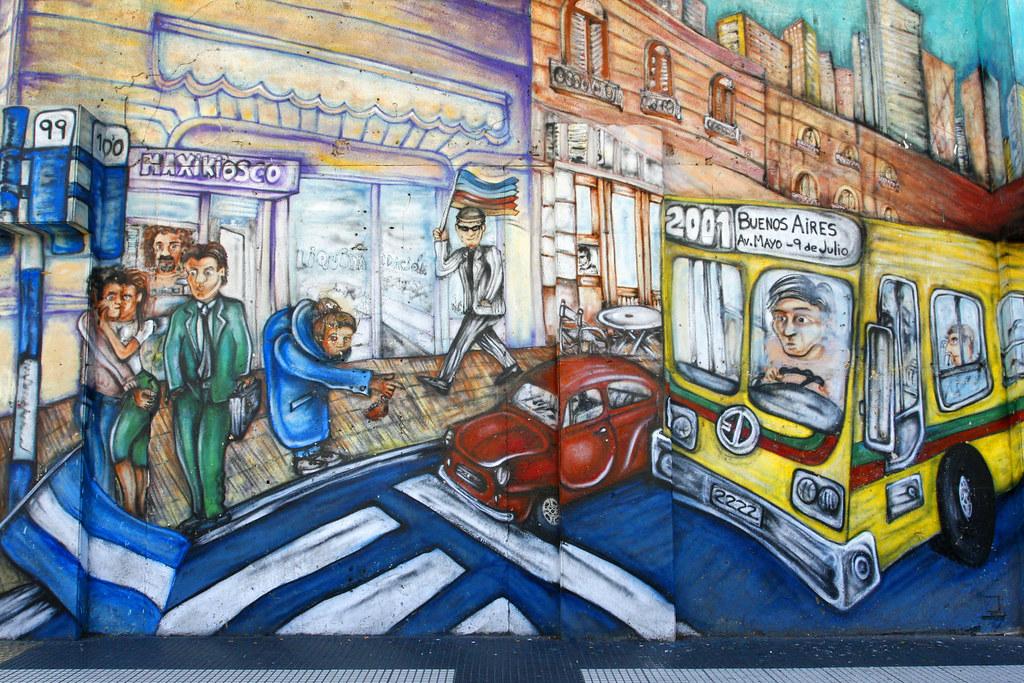 Costumbres Argentinas. Buenos Aires: Street Art / Arte Callejero