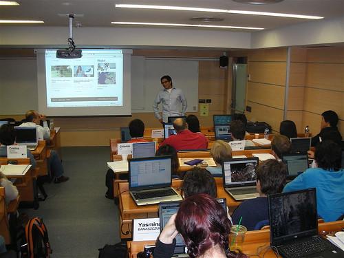 Una clase en el IE Business School de Madrid