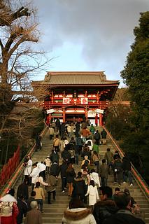 Stairway [ 鶴岡八幡宮 / 鎌倉 ] - 無料写真検索fotoq