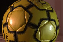 ball, yellow, ball, football,
