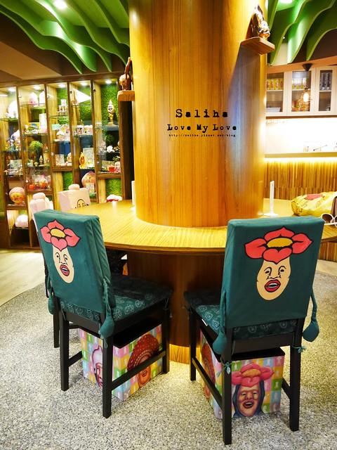 台北東區主題餐廳醜比頭的秘密花園輕食咖啡屁桃 (10)
