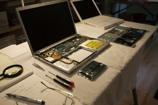 MacBook Pro Hard Disk Replacement