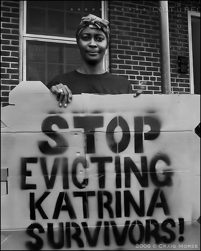 """Stop Evicting Katrina Survivors!"""