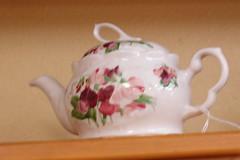 Porcelain,Tea pots,Plates.