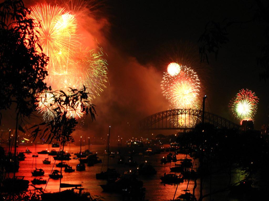 NYE in Sydney, Australia