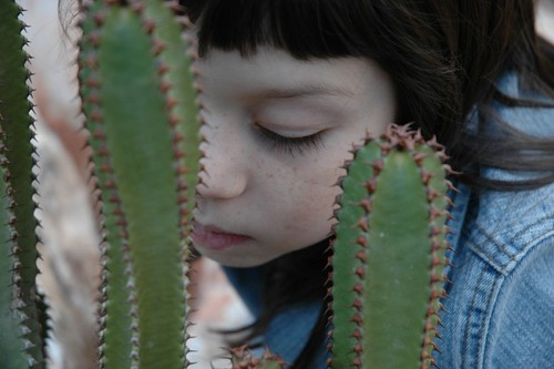 louisa and cactus.