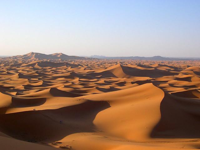 marokko, merzouga, sunrise