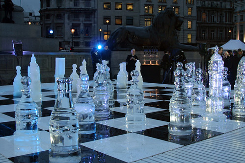 Chess Beneath The Lion