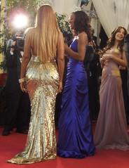 Beyonce and Evangeline (crop)