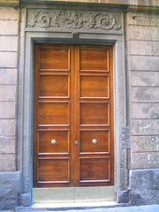 furniture, wood, door, facade,