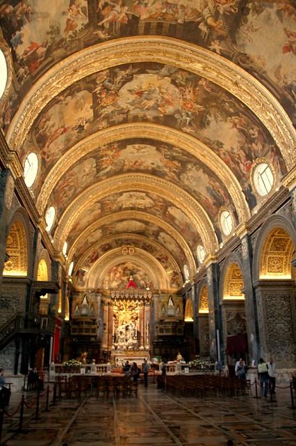 St. John's Cathedral in Valletta, Malta