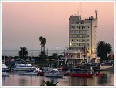 Montevideo's yacht harbour